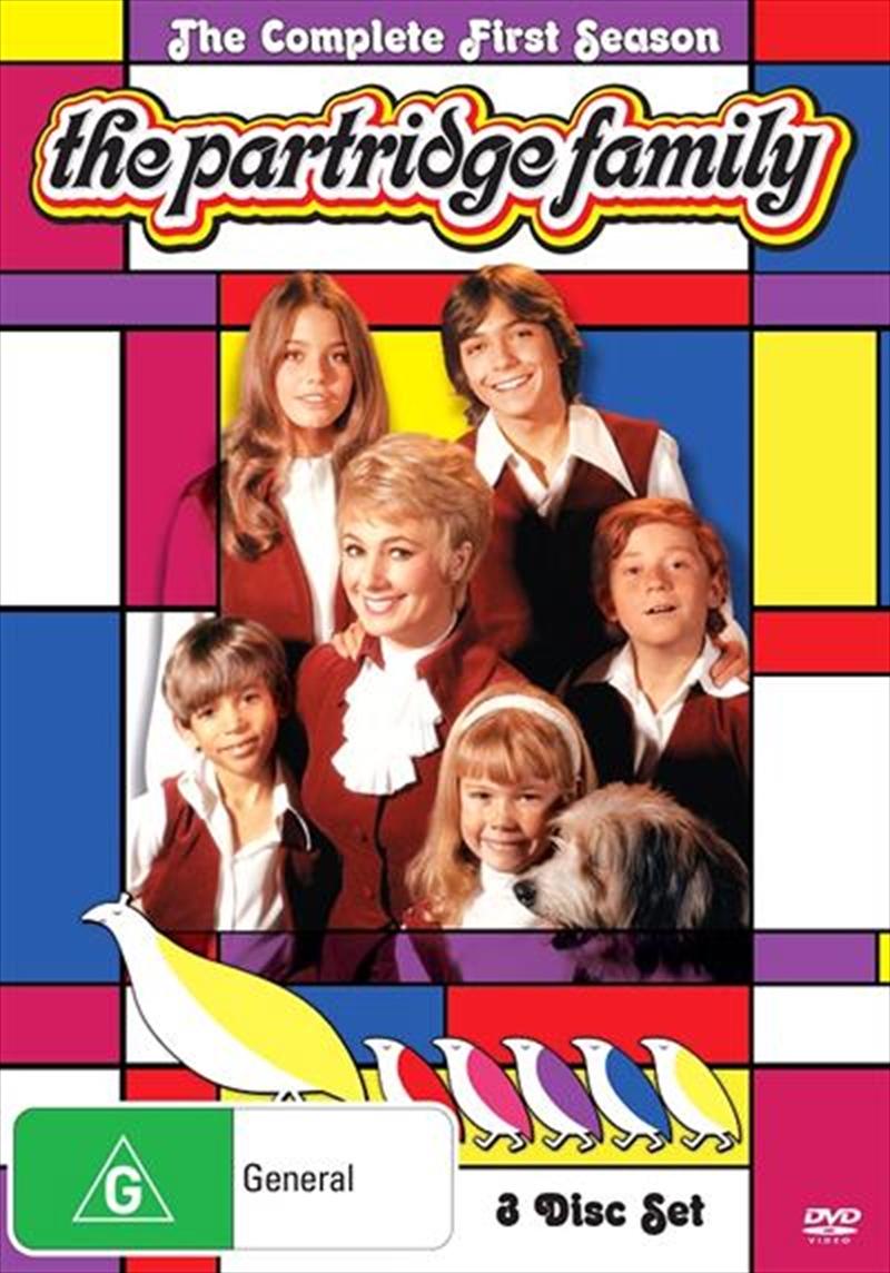 Partridge Family - Season 1, The   DVD