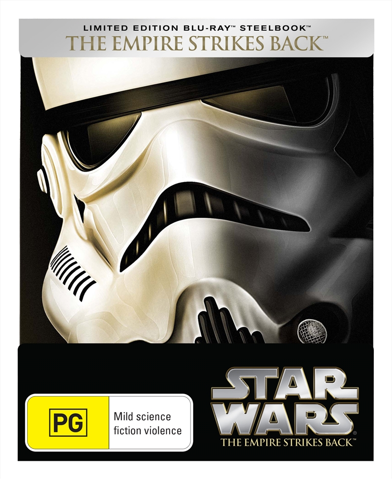 Star Wars Episode V: The Empire Strikes Back - Limited Edition Steelbook | Blu-ray