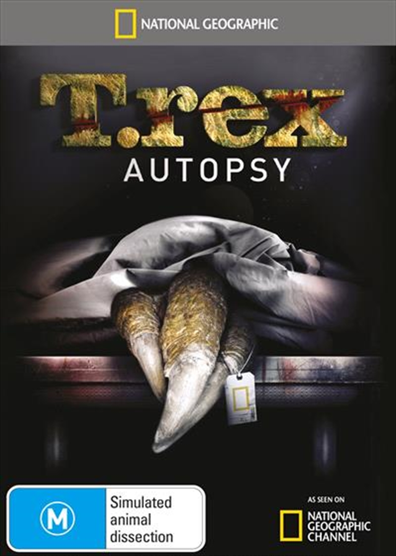 National Geographic - T.rex Autopsy | DVD