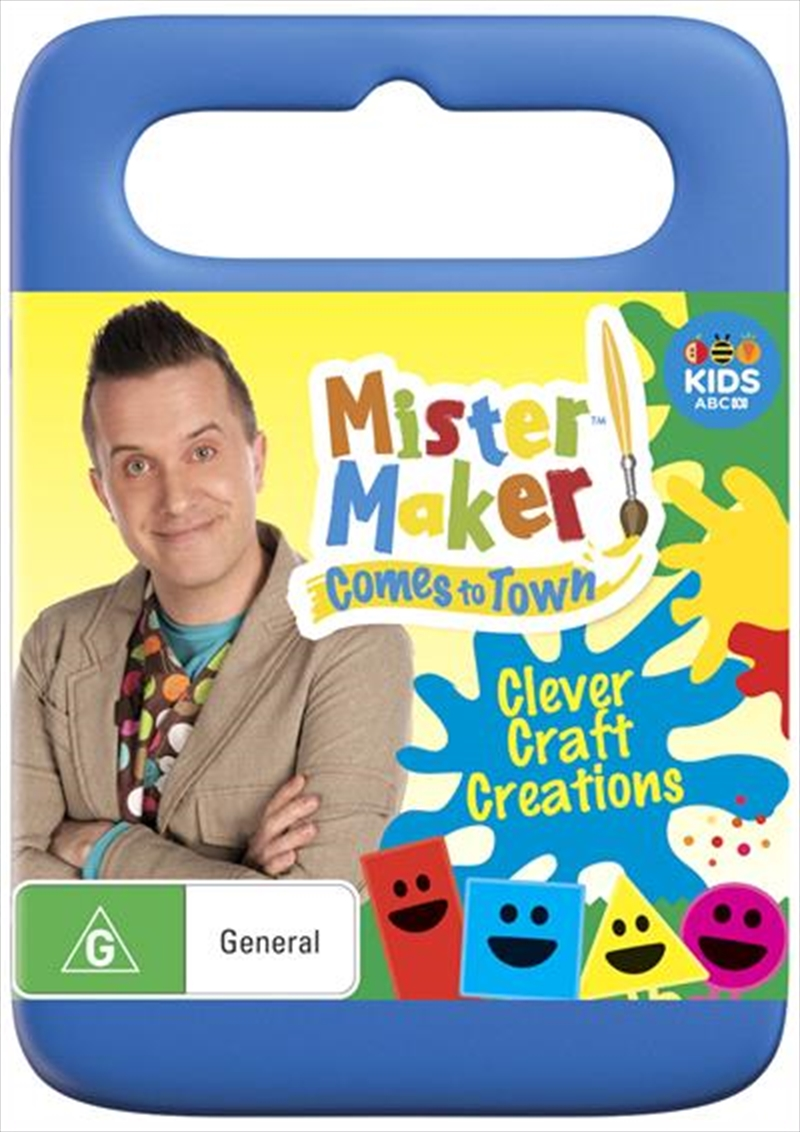 Buy Mister Maker Clever Craft Creations On Dvd Sanity