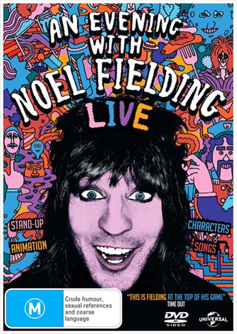 An Evening With Noel Fielding - Live 2015 | DVD