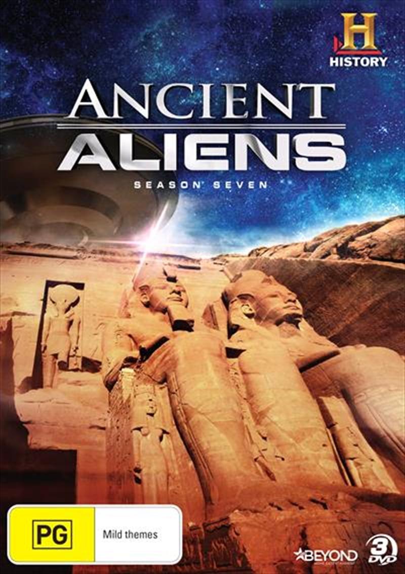 Ancient 10 Card Tarot Spread Mat: Buy Ancient Aliens Season 7 On DVD