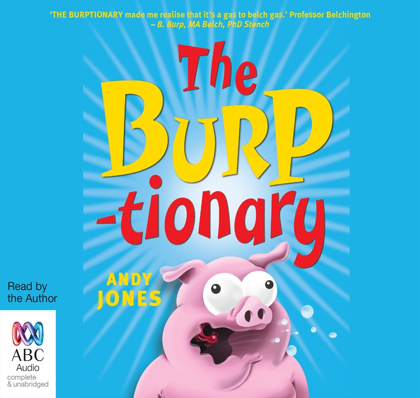 Burptionary | Audio Book