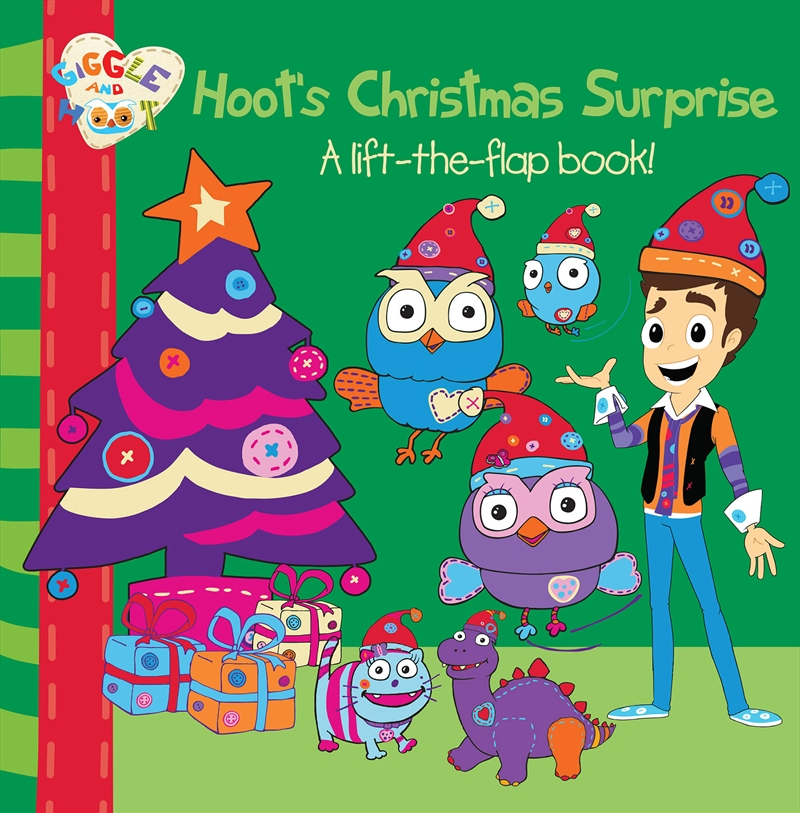 Hoots Christmas Surprise A Lift The Flap | Books