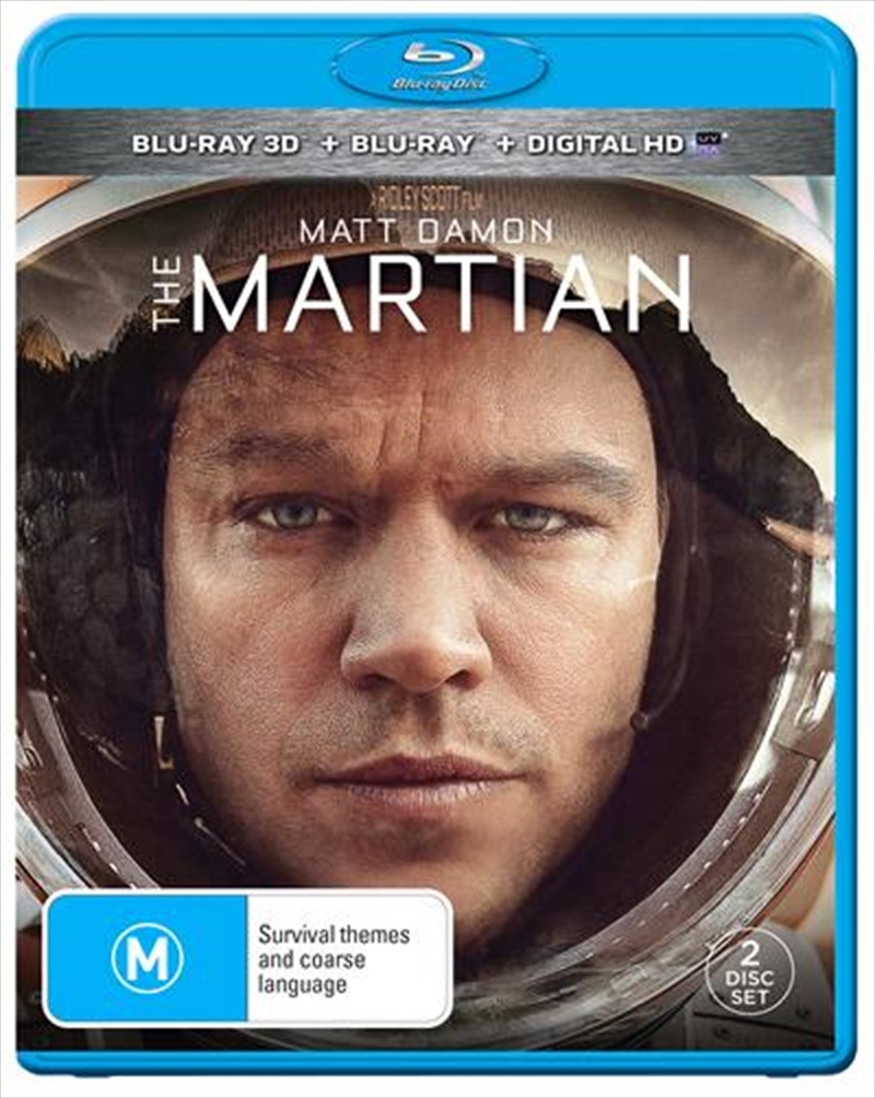 Martian, The | Blu-ray 3D