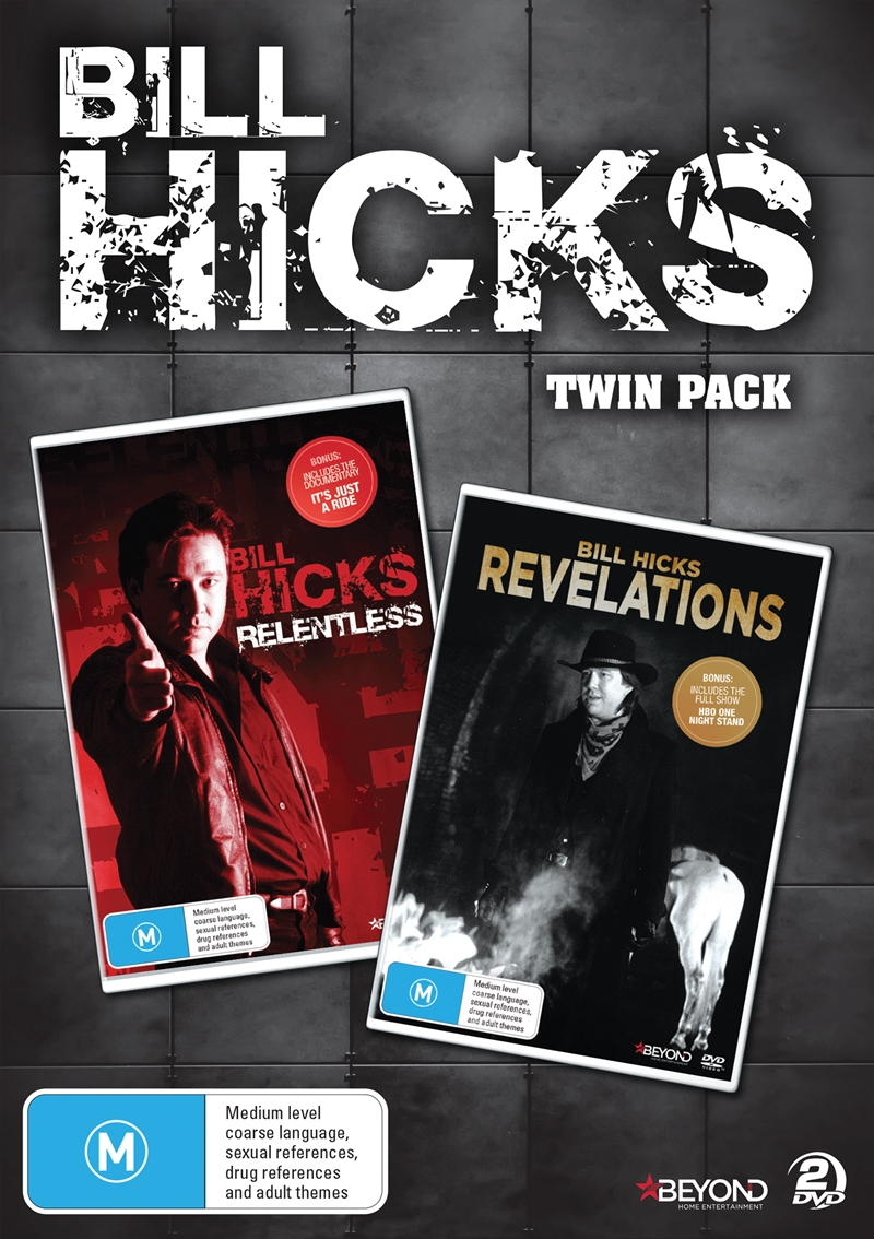 Bill Hicks: Relentless/Revelations Twin Pack | DVD