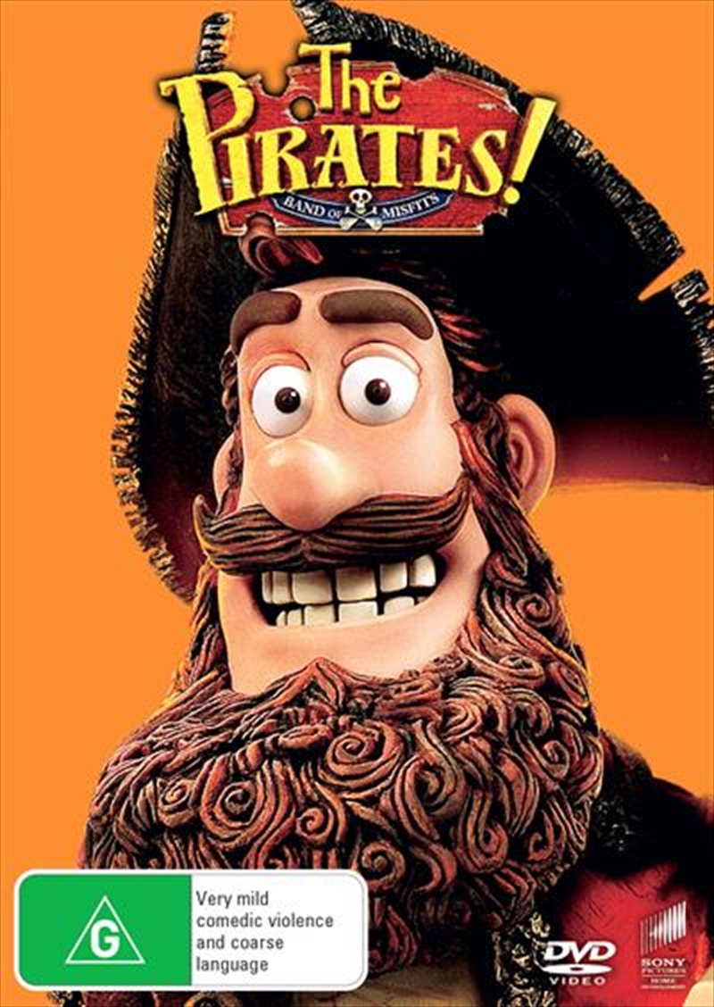 Pirates! - Band Of Misfits Big Face, The | DVD