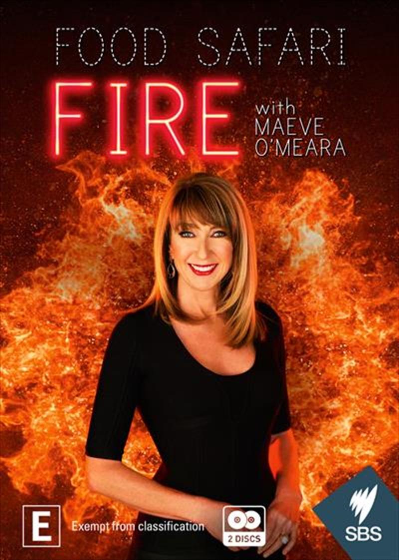 Food Safari Fire   DVD