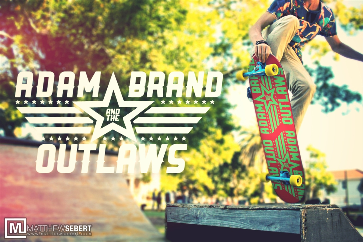 Adam Brand & The Outlaws Skateboard | Merchandise