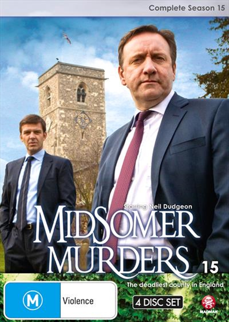 Midsomer Murders - Season 15 | Single Case Version | DVD