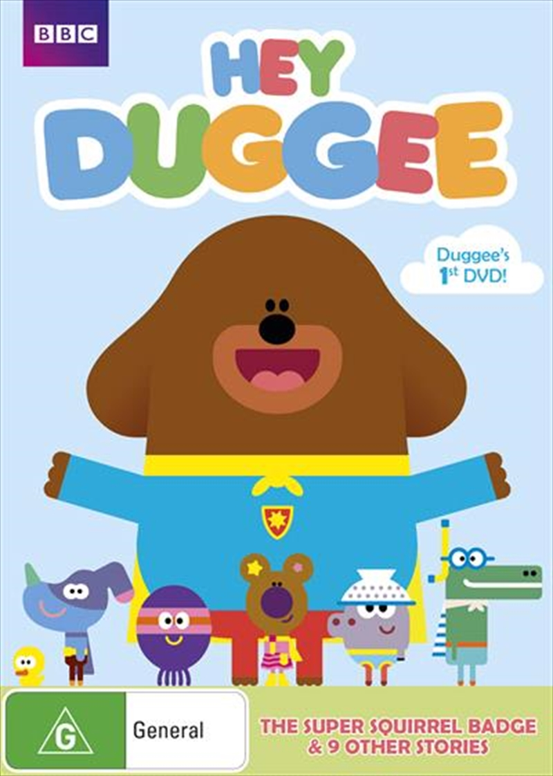 Hey Duggee - Squirrel Badge | DVD