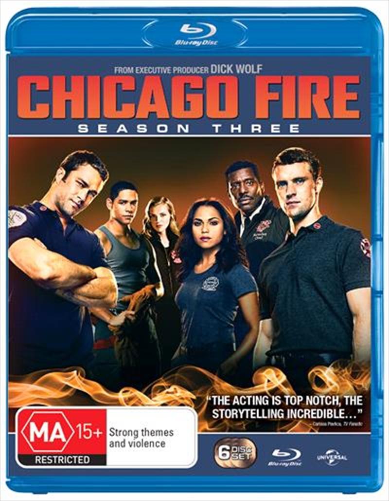 Chicago Fire - Season 3   Blu-ray