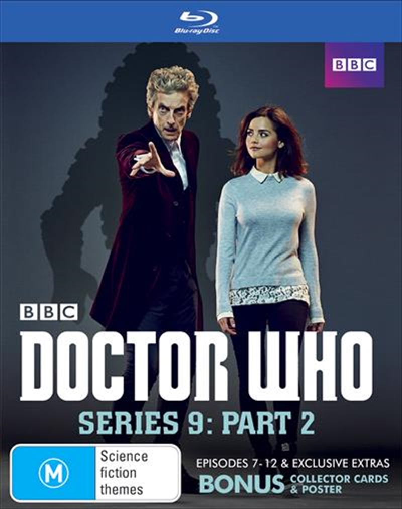 Doctor Who - Series 9 - Part 2   Gift With Purchase   Blu-ray