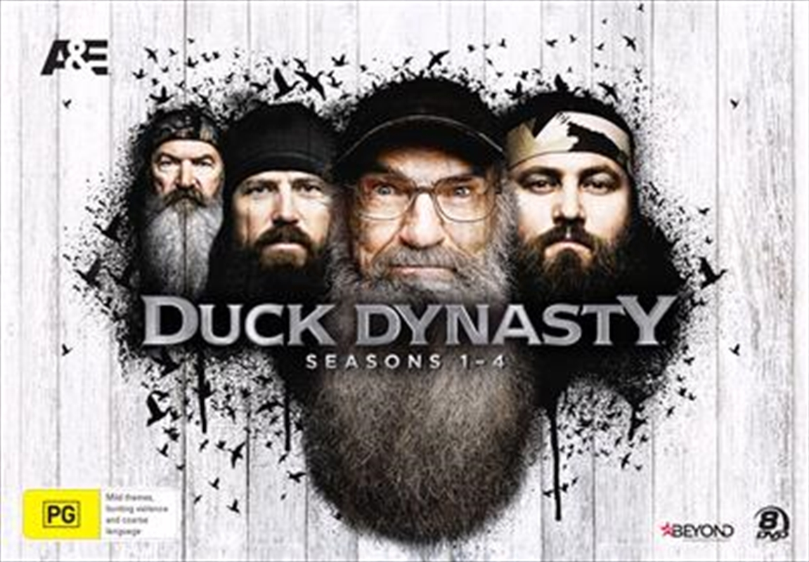 Duck Dynasty - Season 1-4 | Collector's Gift Set | DVD