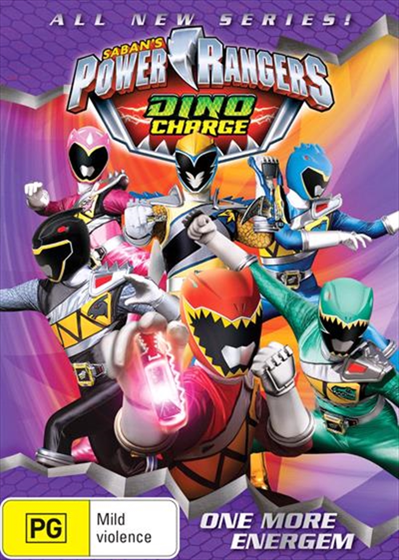 Dino Charge - One More Energem   DVD