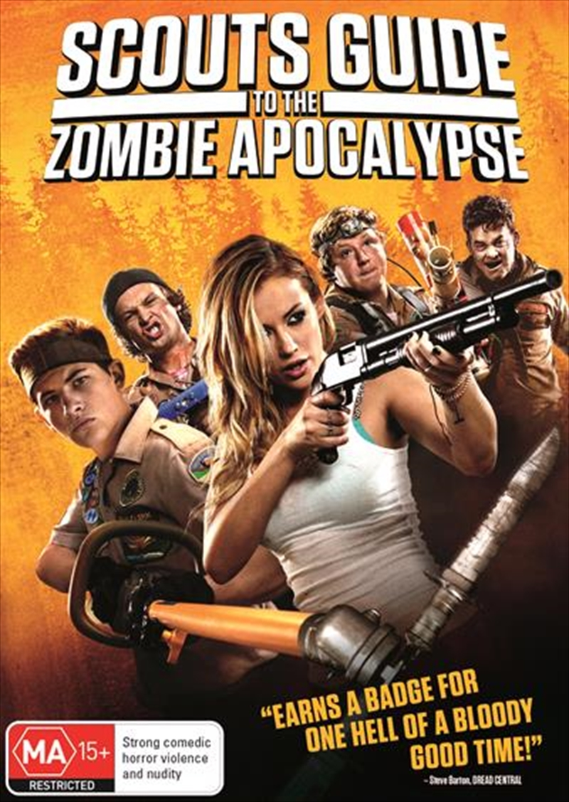 Scouts Guide To The Zombie Apocalypse | DVD