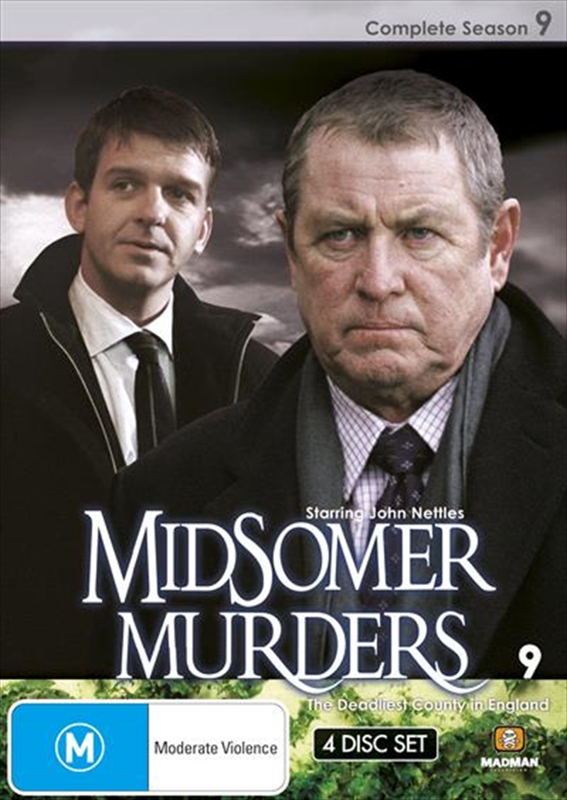 Midsomer Murders - Season 09 | Single Case Version | DVD