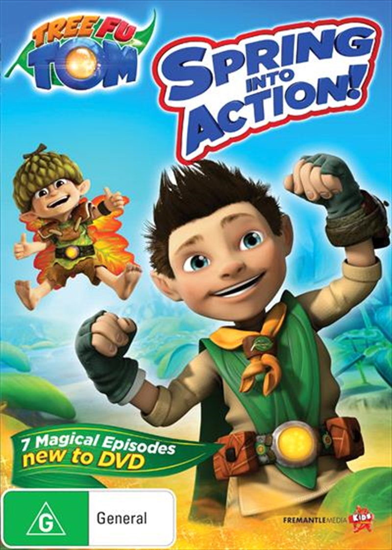 Tree Fu Tom - Spring Into Action | DVD
