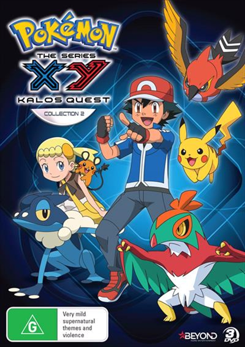 Pokemon - XY Kalos Quest - Collection 2 | DVD