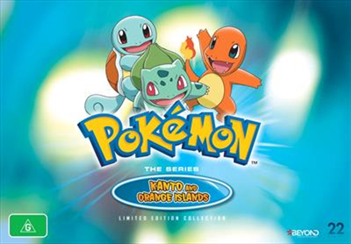 Pokemon - Adventures In Kanto and Orange Islands | Collector's Gift Set | DVD