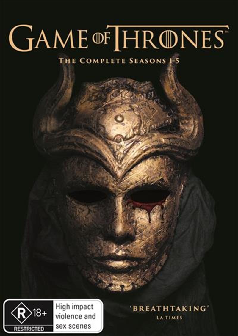 Game Of Thrones - Season 1-5   Boxset HBO, DVD   Sanity