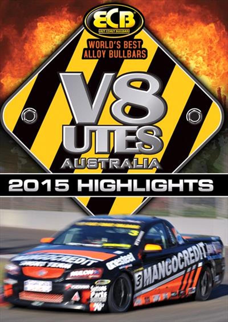 V8 Utes Australia - Championship 2015 Series Highlights   DVD