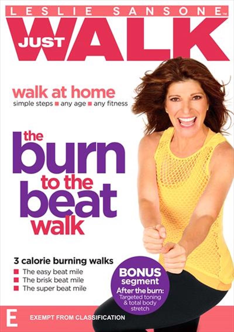 Leslie Sansone: Walk At Home: The Burn to the Beat Walk | DVD