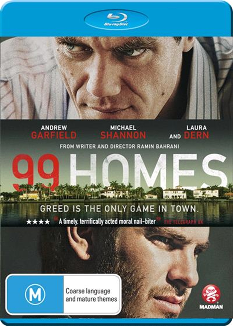99 Homes   Blu-ray