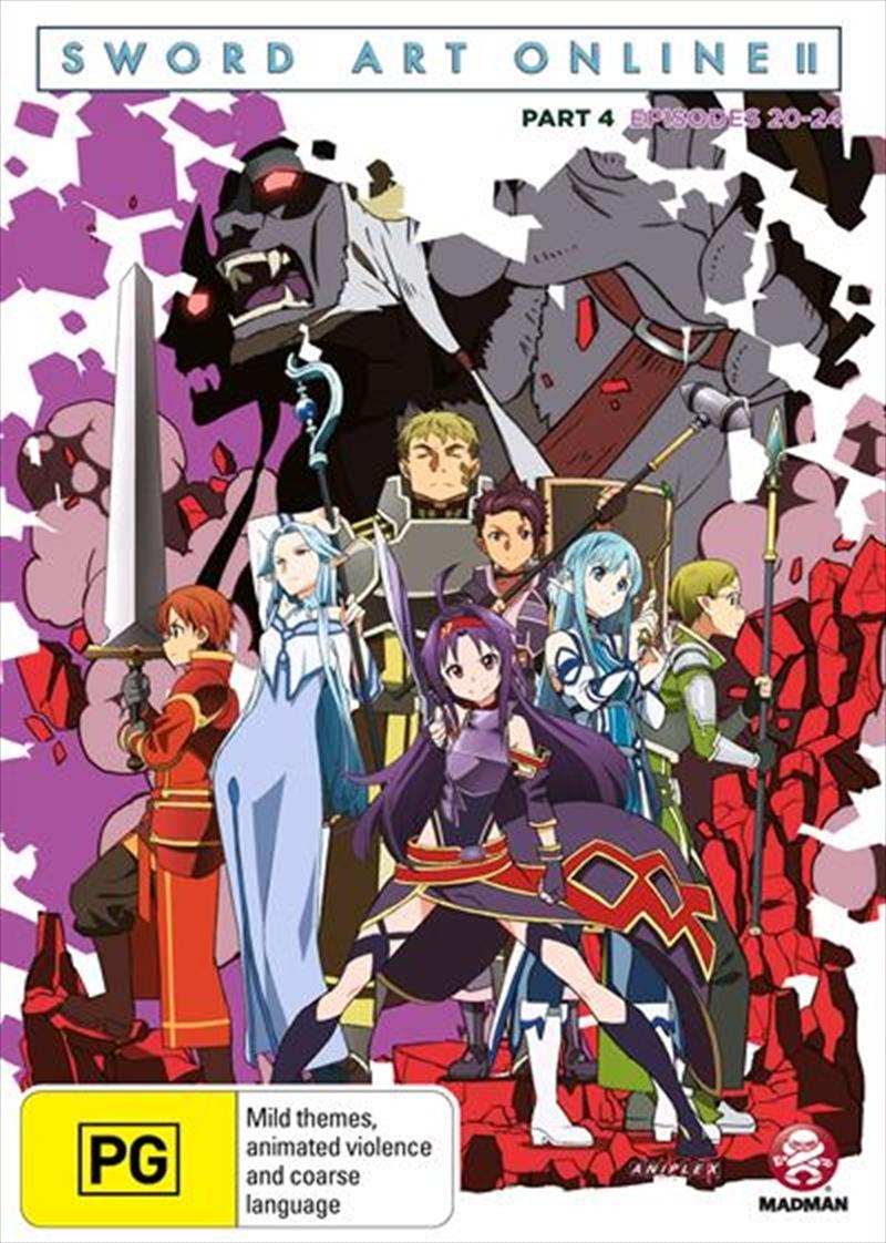 Sword Art Online 2 - Part 4 | DVD