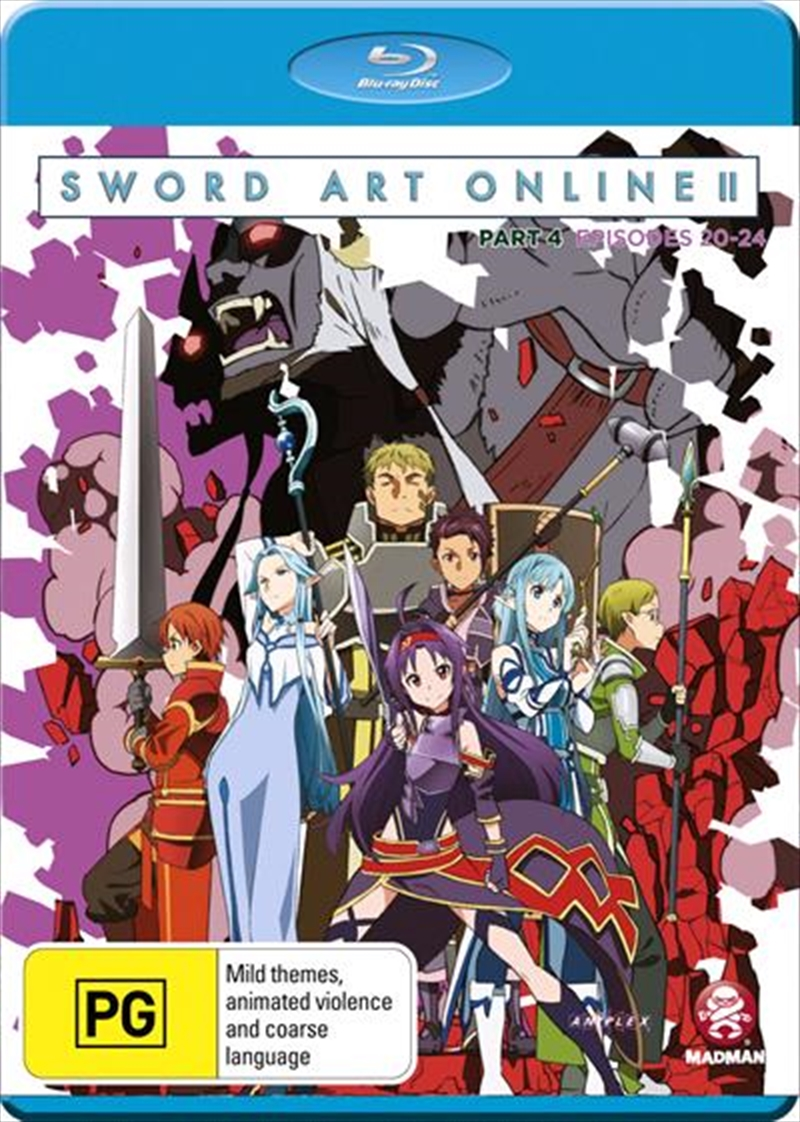 Sword Art Online 2 - Part 4 | Blu-ray