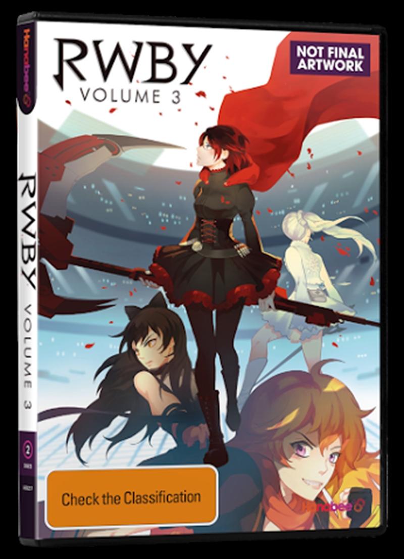 Rwby Vol 3   DVD