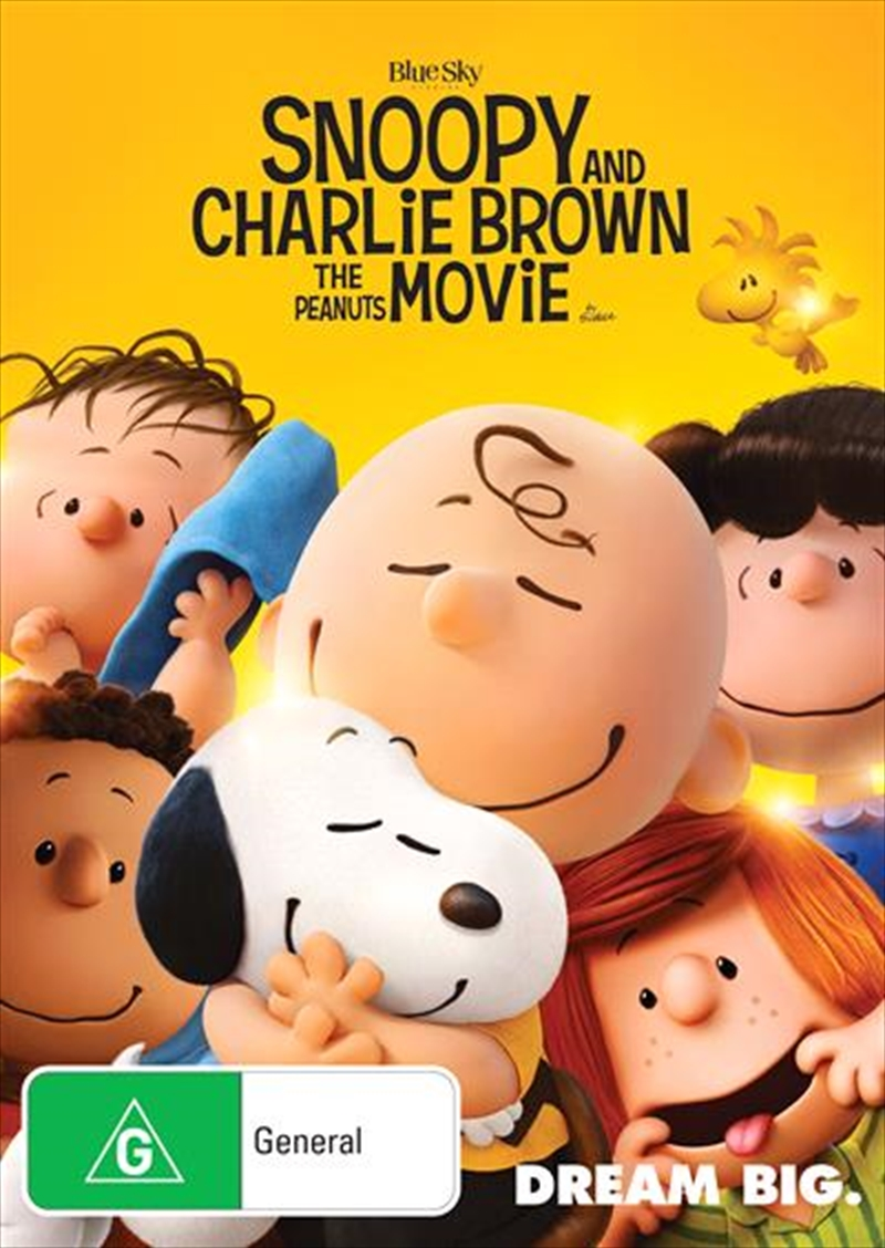 Snoopy And Charlie Brown - The Peanuts Movie   DVD