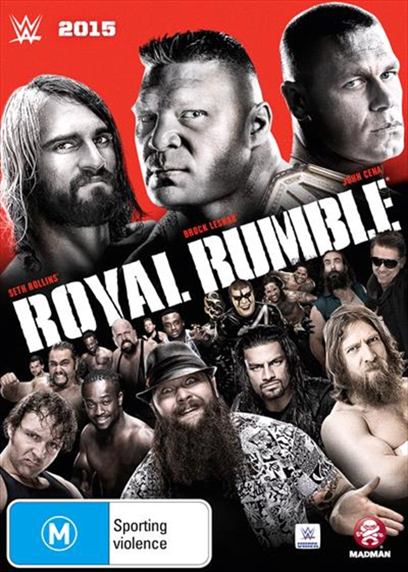 WWE - Royal Rumble 2015 | DVD