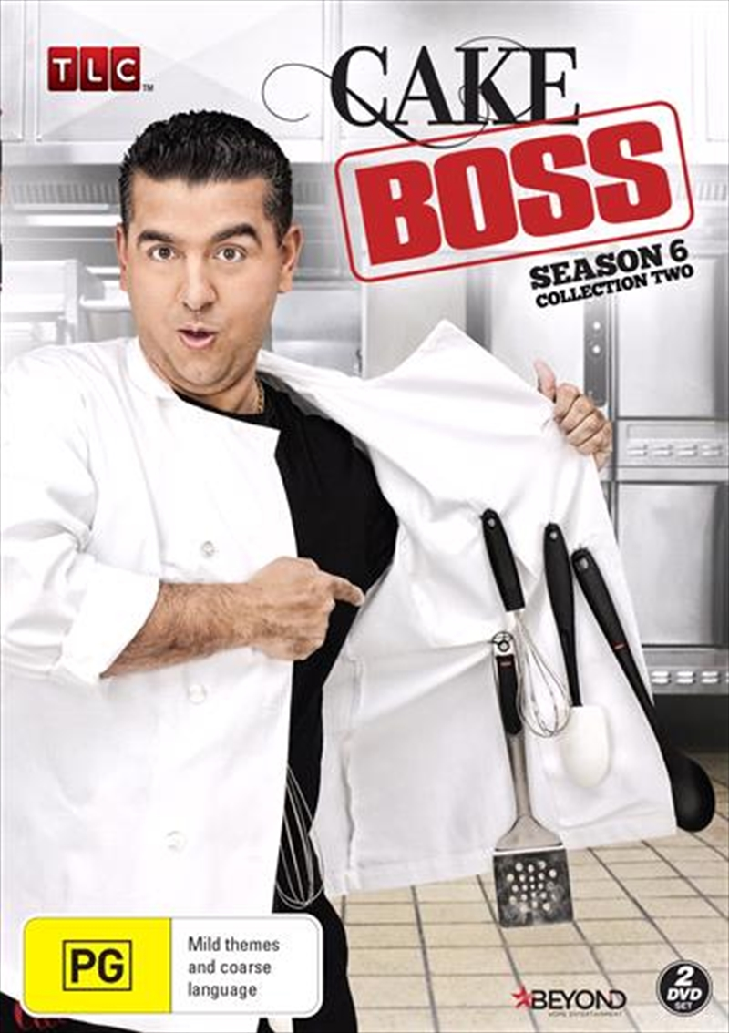 Cake Boss - Season 6 - Collection 2 | DVD