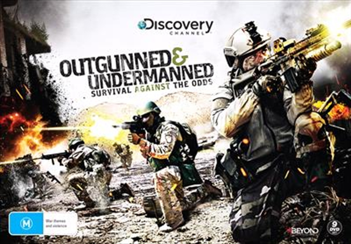 Outgunned & Undermanned - Survival Against The Odds Collector's Gift Set | DVD