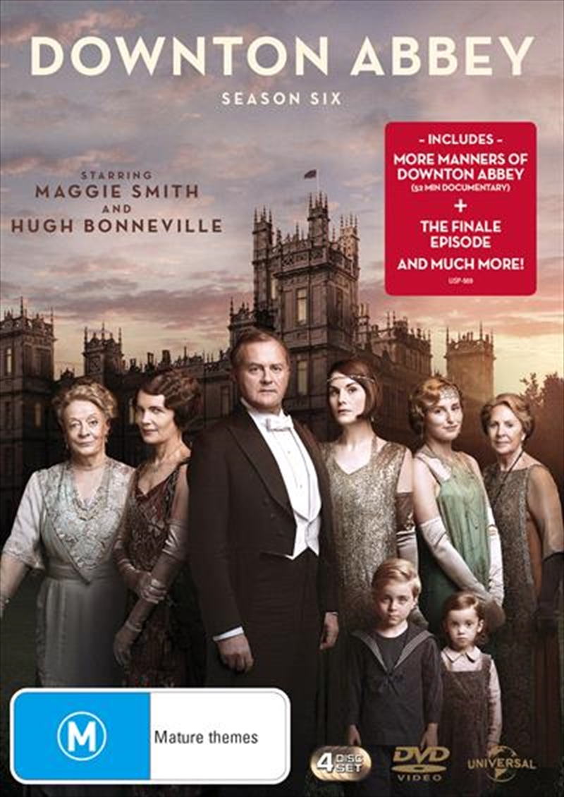 Buy Downton Abbey Season 6 on DVD