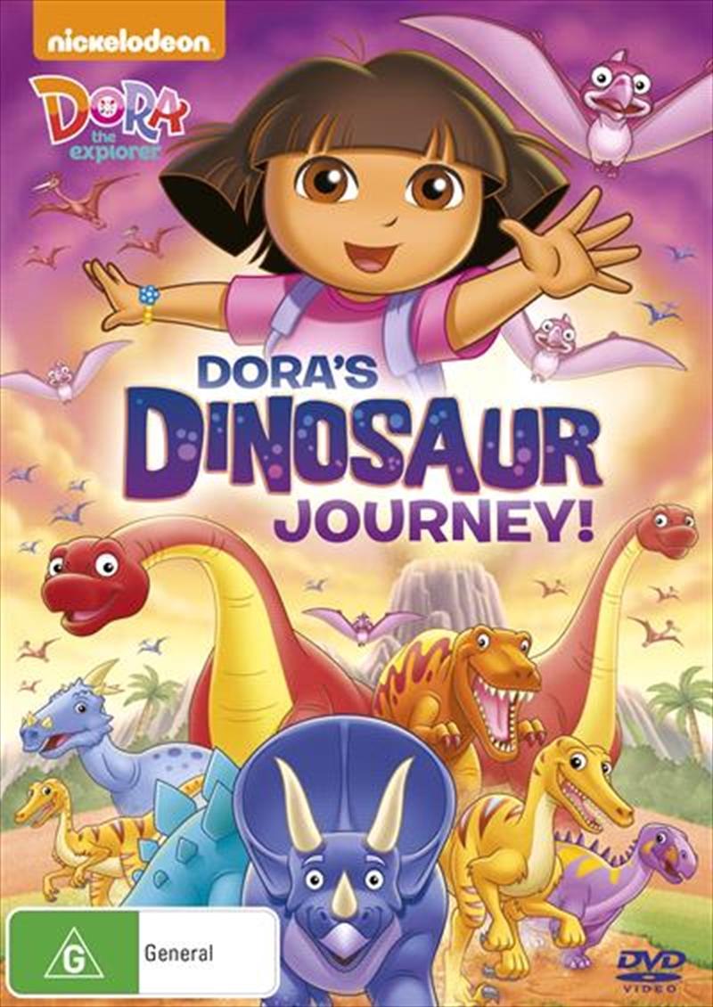 Dora The Explorer - Dora's Dinosaur Journey!   DVD