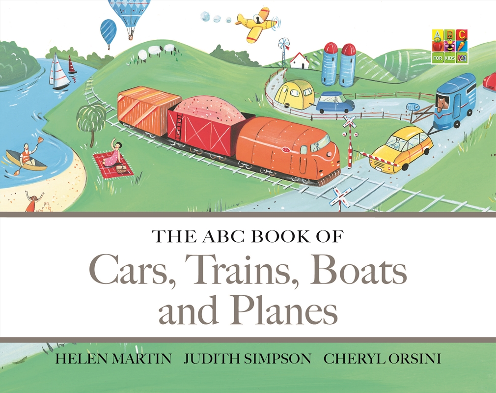 Abc Book Of Cars Trains Boats | Books