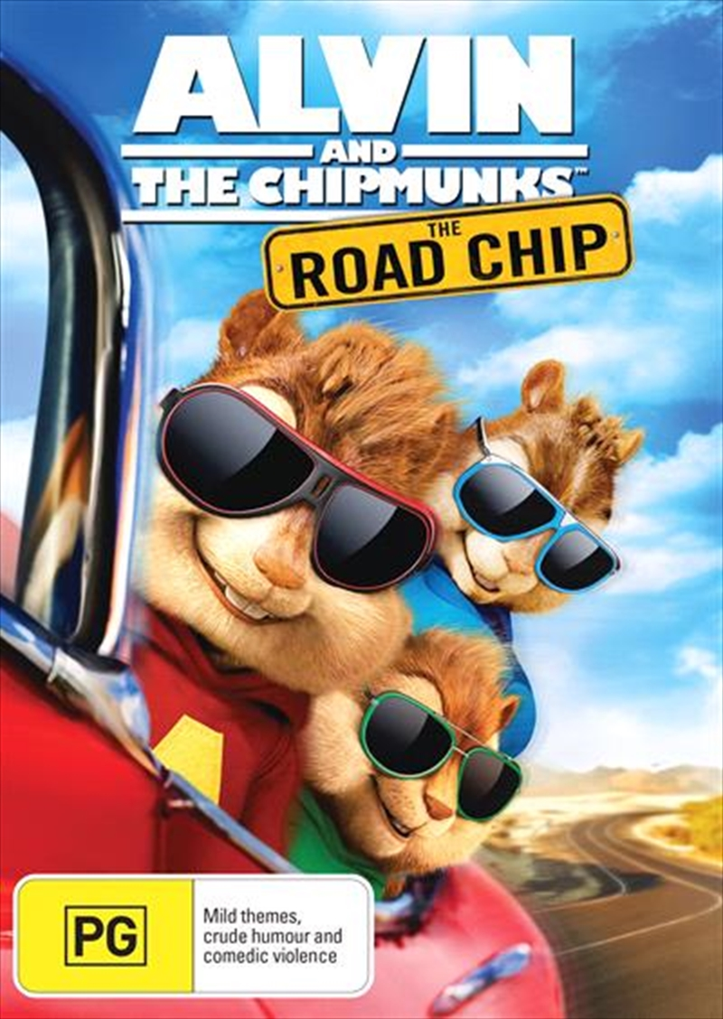 Alvin And The Chipmunks - The Road Chip | DVD