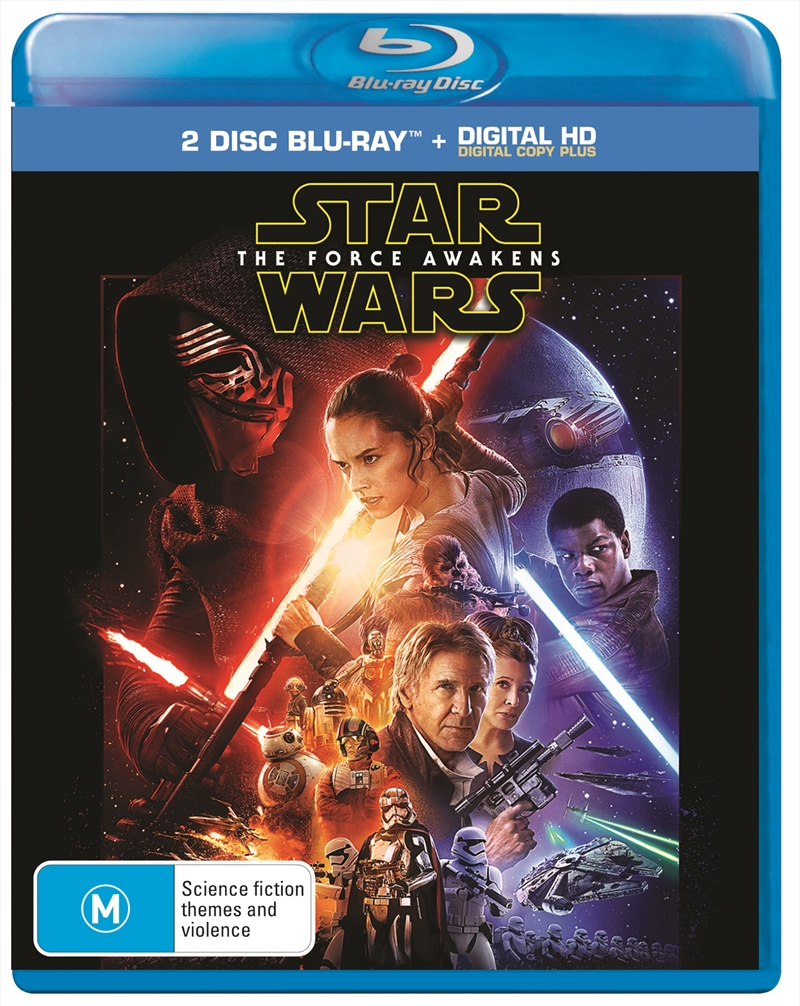 Star Wars - The Force Awakens   Blu-ray