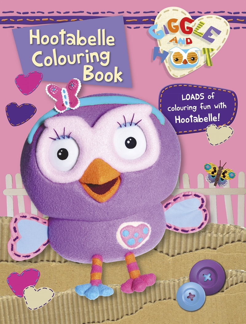 HOOTABELLE COLOURING BOOK | Books