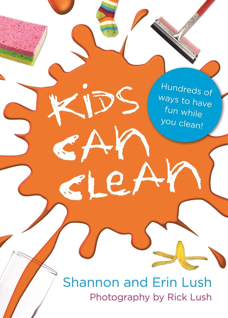 Kids Can Clean   Books
