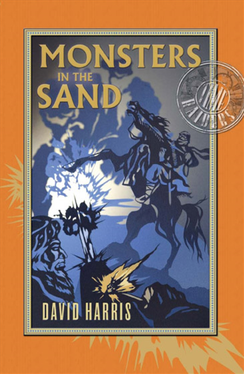 Monsters In The Sand Time Raiders 2 | Books
