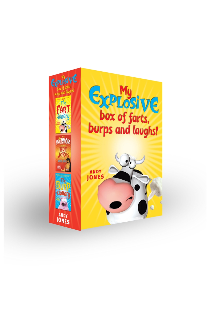 My Explosive Box Of Farts Burps Laughs | Books