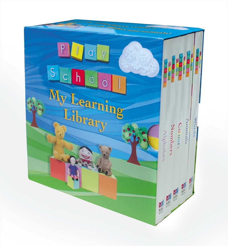 Play School My Learning Library | Books