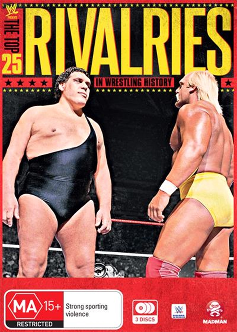 WWE -  The Top 25 Rivalries In WWE History | DVD