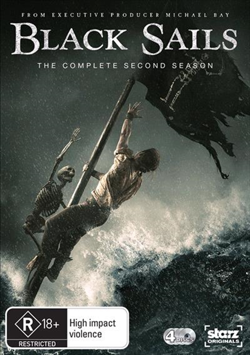 Black Sails - Season 2 | DVD