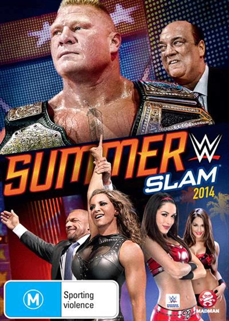 WWE - SummerSlam 2014 | DVD