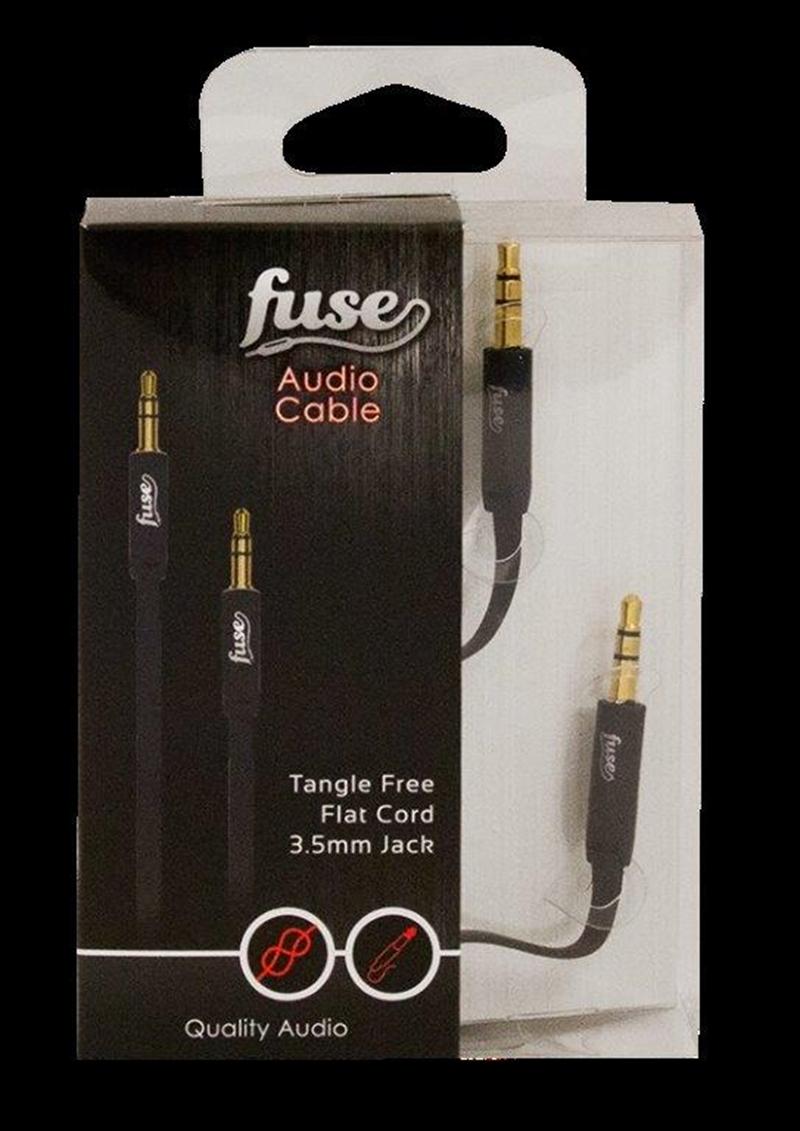 Fuse Audio Cable: Black | Accessories