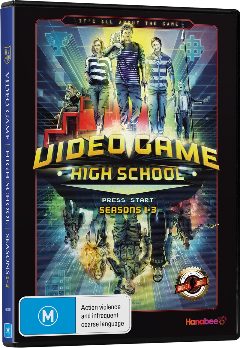 Video Game High School; S1-S3 | DVD